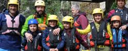 Rafting sull'Aniene