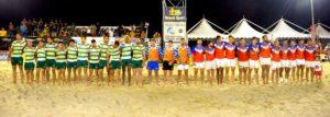 Master finale di Beach Rugby 2018