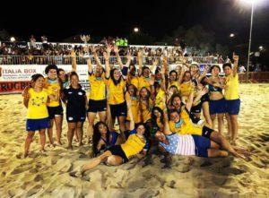 Master finale di Beach Rugby 2018 femminile