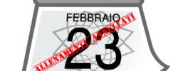 23 Febbraio allenamenti annullati